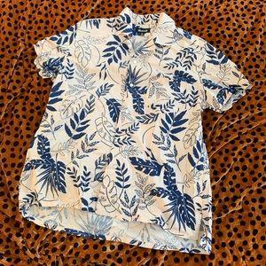 Men's Hawaiian Shirt Madewell Brand New
